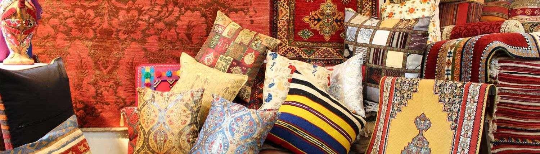 Vendita tappeti, tessuti e cuscini orientali a Grottaferrata