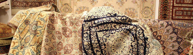 Lavaggio a mano tappeto antico orientale a Roma