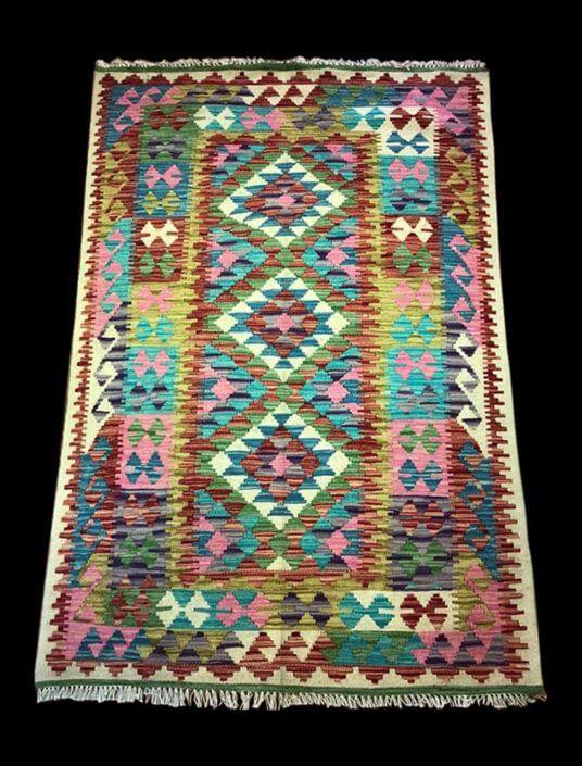 Kilim afgano colori vegetali 154x100
