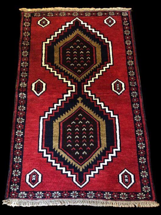 Persia baluci antico colori vegetali 100x150